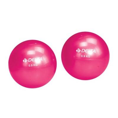 Delta Pilates Denge Ağırlık Topu (Toning Ball-Fuşya)
