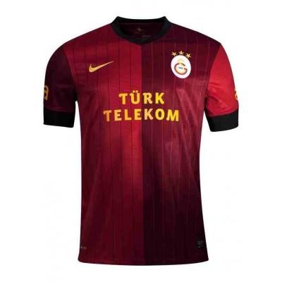 Galatasaray 2012-2013 Maç Forması (Kırmızı-Siyah)