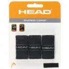 Head Super Comp Grip 3 lü (Siyah)