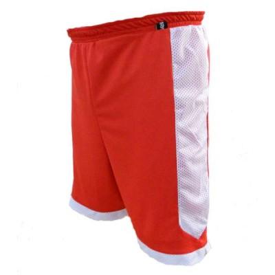 Scorp Çift Taraflı Basketbol Şortu (Kırmızı-Beyaz)