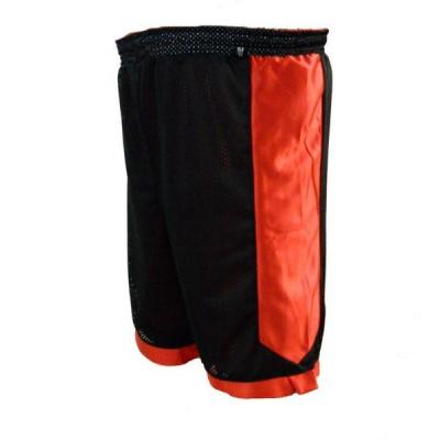 Scorp Çift Taraflı Basketbol Şortu (Kırmızı-Siyah)