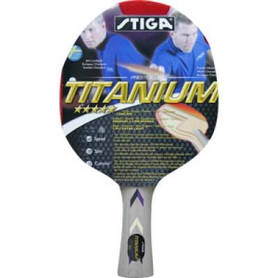 Stiga Titanium ACS 5* ITTF Onaylı Masa Tenisi Raketi